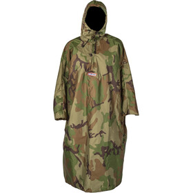 Helsport Poncho Unisex camouflage forest